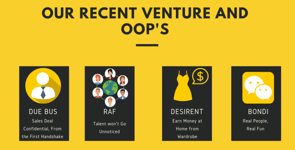 Venture and OOPs Logo