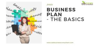 Business Plan - The Basics