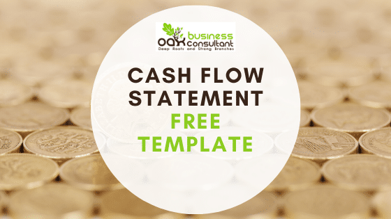 Cash Flow Statement Template - Free