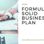 Formulate a Solid Business Plan