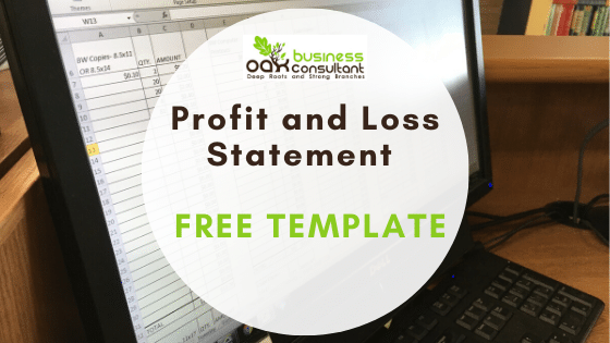 Profit and Loss Statement Free Template