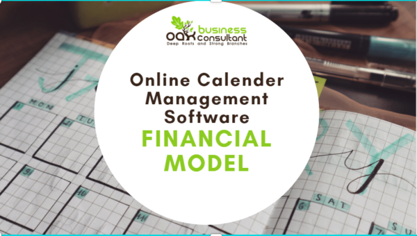 Online Calander Management Software Financial Model
