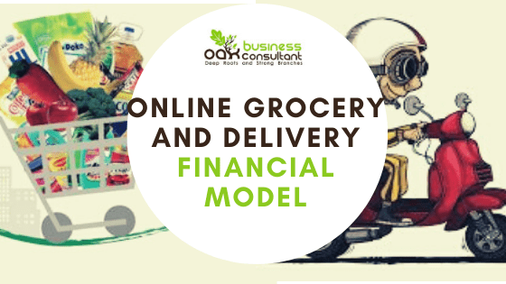 Online Grocery and Delivery Financial Model Cover Image