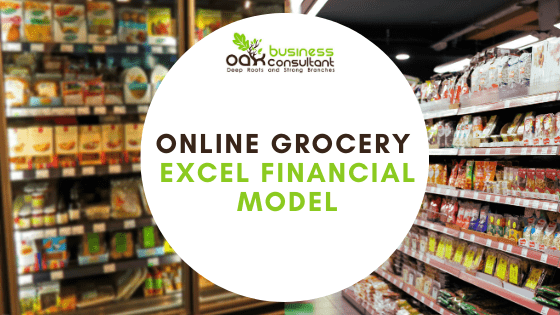 Online Grocery Financial Model Cover Photo