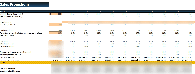 Medical_Practise_Financiall_Model_Revenue_Analysis