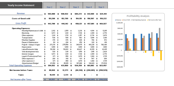 Online_Electronic_Store_Excel_Financial_Model_Yearly_Income_Statement