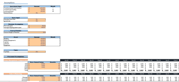 In_Home_Health_Care_Financial_Model_Input_Sheet