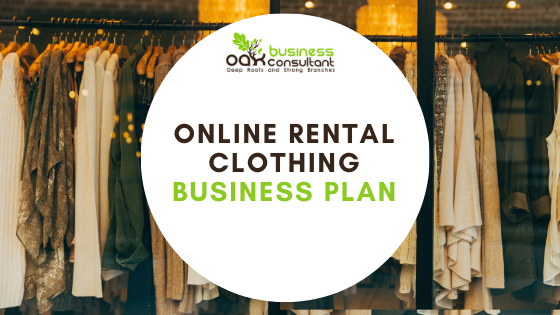 Online Rental Clothing Business Plan