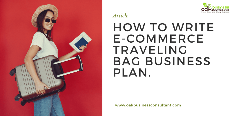 How to write e-commerce traveling bag Business plan