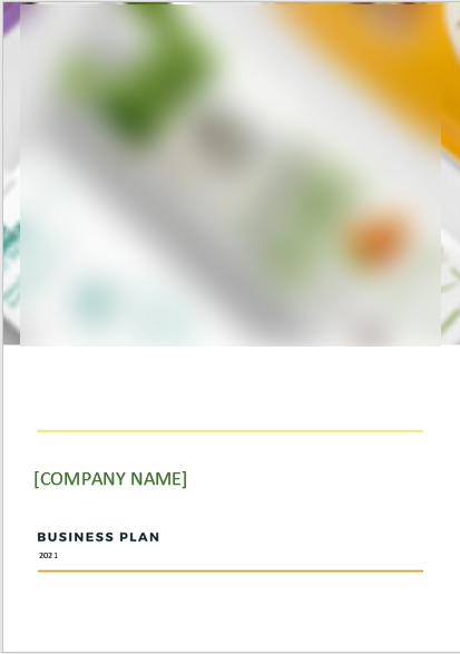 Online Organic Store Business Plan