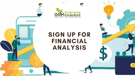 Sign Up For Financial Analysis