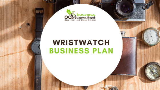 Wristwatch Business Plan Cover photo