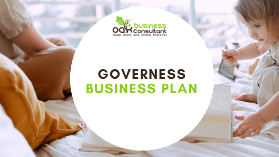 Governess Business Plan cover