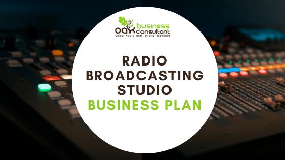 Radio Broadcasting Business Plan Cover image