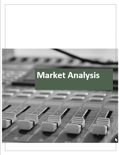 Radio Broadcasting Business Plan Market analysis