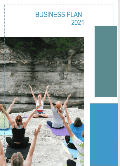 Yoga Studio Business Plan Cover image