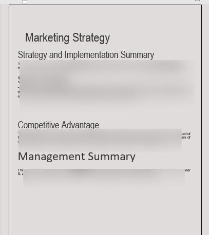 Architecture Business Plan management