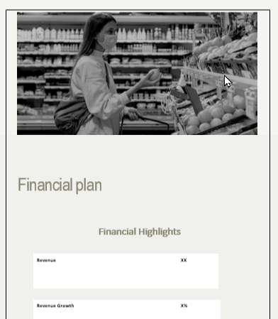 Errand service business plan financial plan