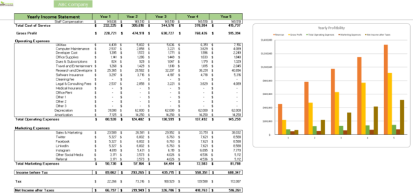 Accounting_Sofware_FInancial_Model_Income_Statement