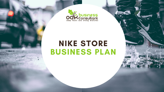 Nike Business Plan Coverphoto