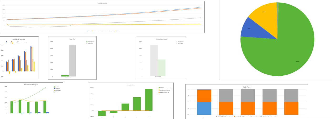 Frozen Yogurt Excel Financial Model Template Dashboard
