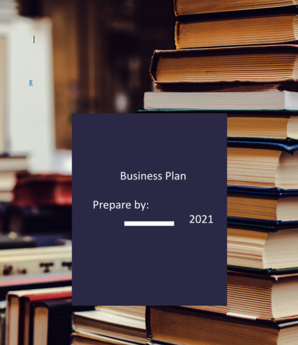 Used Bookstore Business Plan COVER