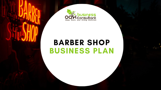 barber shop business plan Cover Photo
