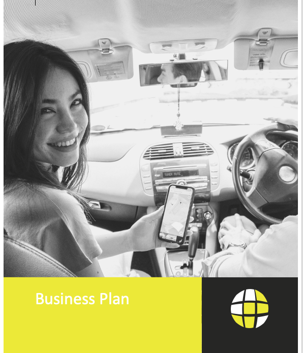 Driving School Business Plan Cover