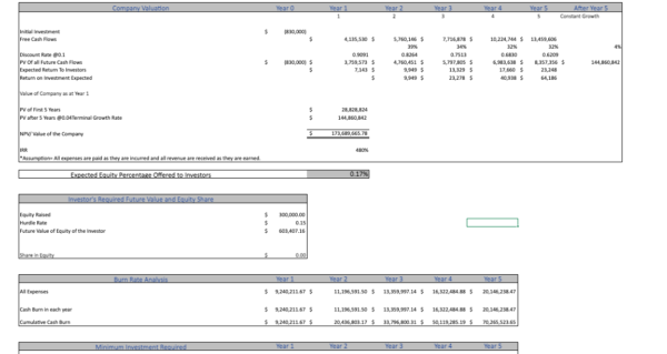Drug Rehab Excel Financial Model Template Project evaluation