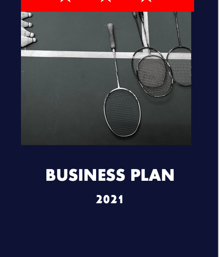 Rental Sports Equipment Business Plan cover