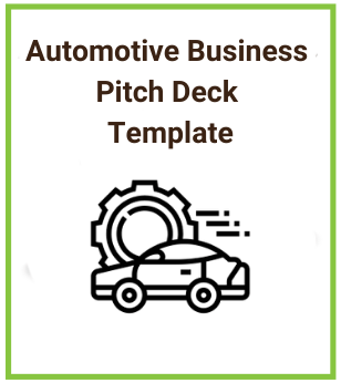Automotive business Pitch Deck Template