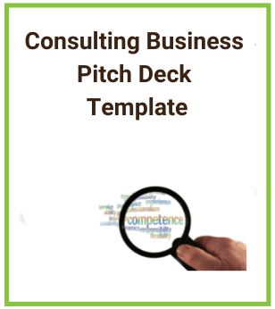 Consulting Business Pitch Deck Template