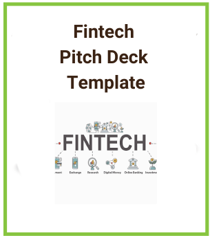 Fintech Pitch Deck Template